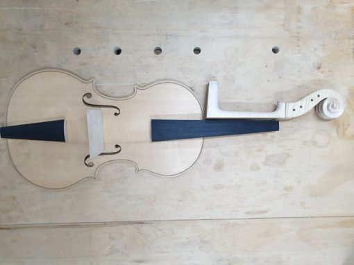 De viola pomposa van Ernst-Jan