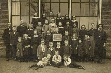 School in Tjerkwerd 1917