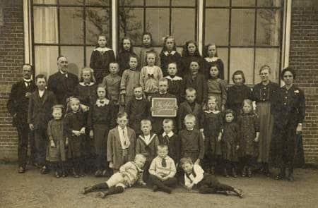 School in Tjerkwerd 1917